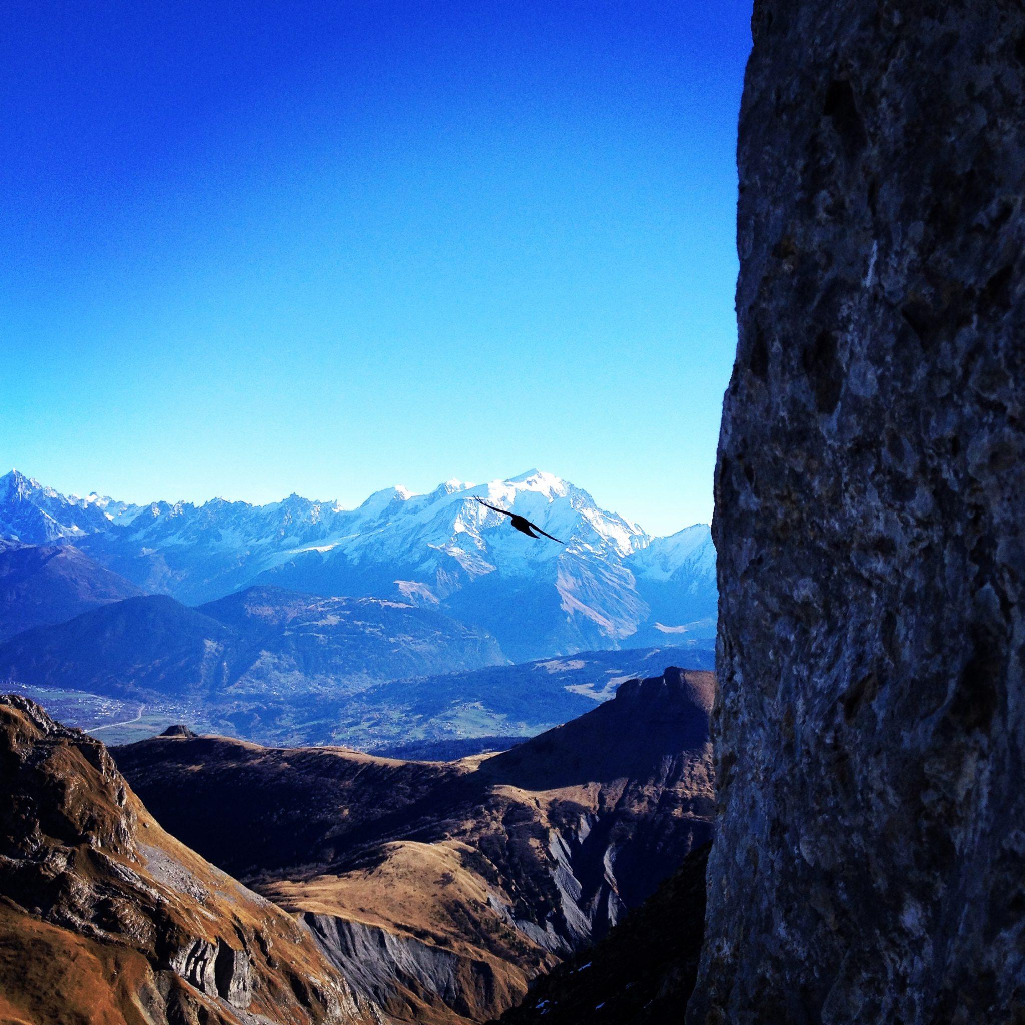 choucas-mont-blanc-trou-mouche-aravis-la-clusaz-montagne-randonnée