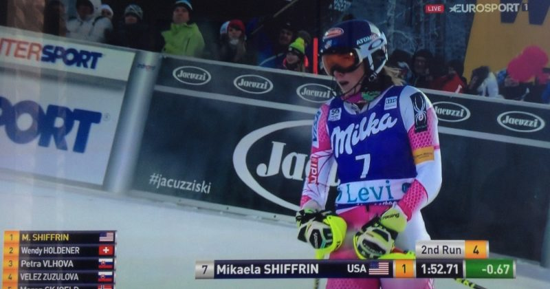 Shiffrin the Queen! La reine du week-end.