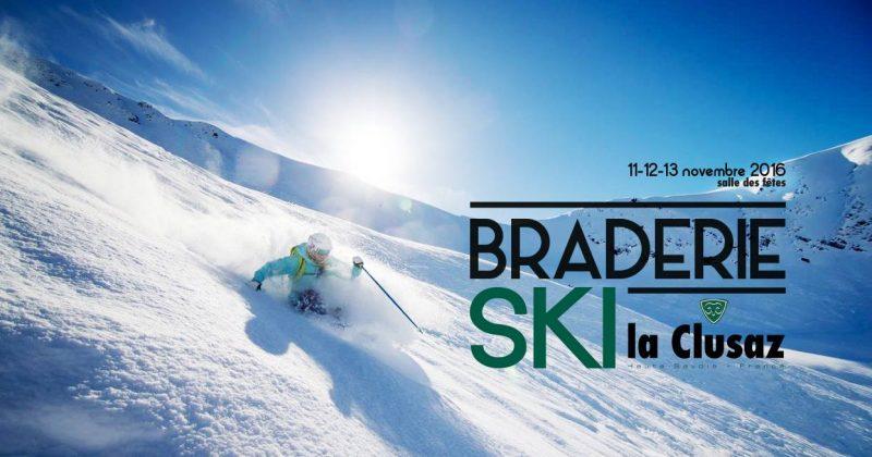 Ne ratez pas la grande braderie ski de La Clusaz!