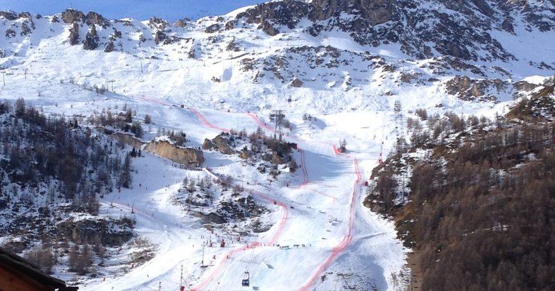 Critérium de la 1ère neige à Val d'Isère