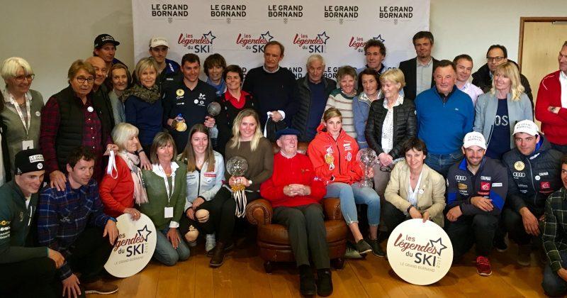 Les légendes du ski français réunies au Grand Bornand