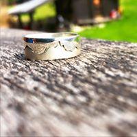 Snowflike-chamonix-jewelry-ring-silver-mountain