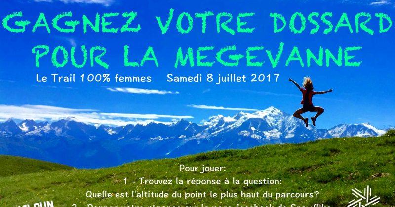 Gagnez un dossard pour la Mégevanne le 8 juillet 2017