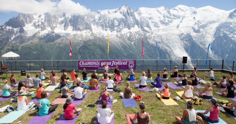 Reliez votre corps et votre esprit au Chamonix Yoga Festival