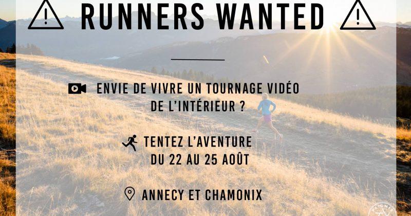 Traileurs, traileuses, participez à un tournage publicitaire.