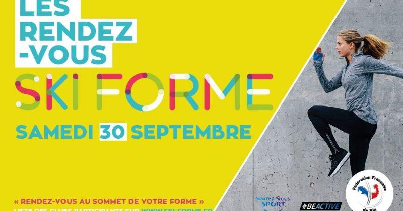 Démarrez votre programme sportif avec la FFS ce samedi 30 septembre
