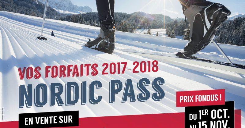 Votre Nordic Pass à prix fondu c'est maintenant!