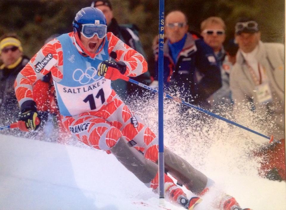 ski-montagne-pralognan-en-vanoise-fleche-ESF-skieuses-defi