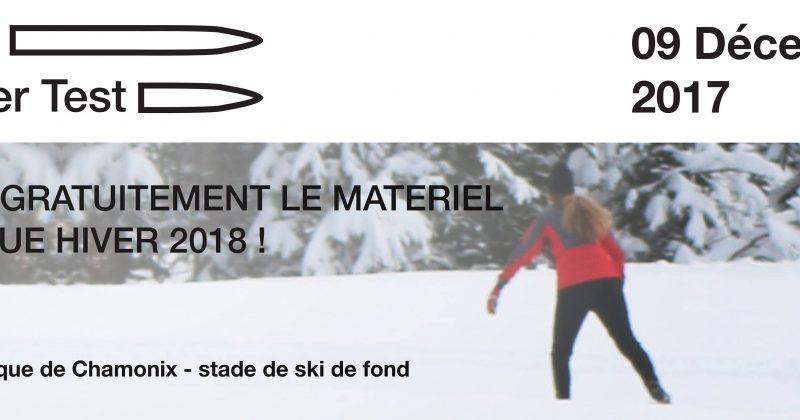 Testez le matériel nordique à Chamonix le 9 décembre