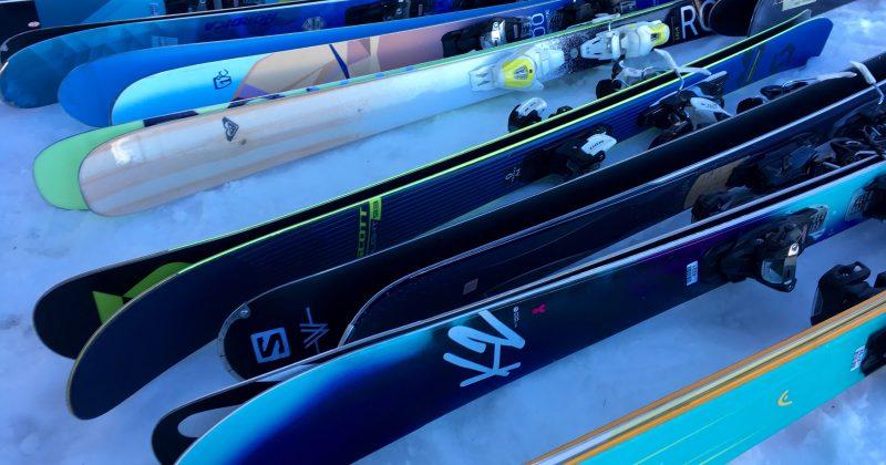 Tests : skis femmes 17/18 – polyvalents tout terrain