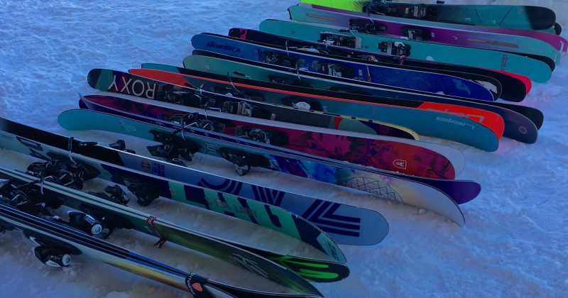Tests : skis femmes 17/18 – freeride