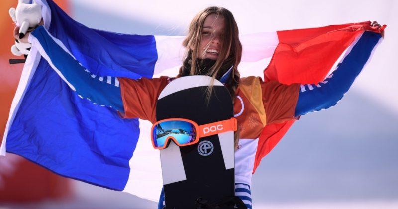 Julia Pereira, plus jeune médaillée française aux jeux d'hiver