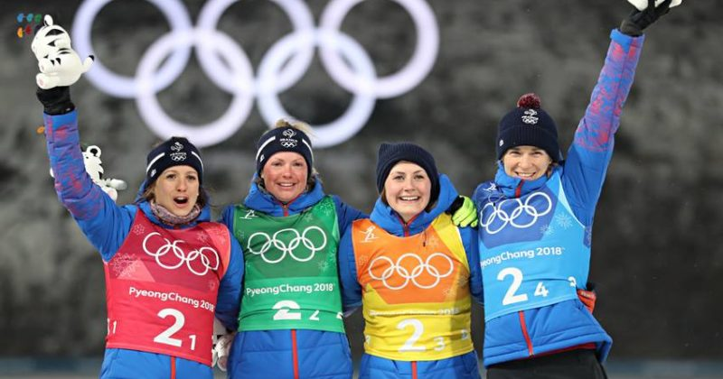 Biathlon : carré de dames