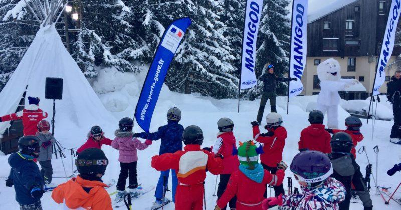 Au ski aussi l'échauffement c'est important !