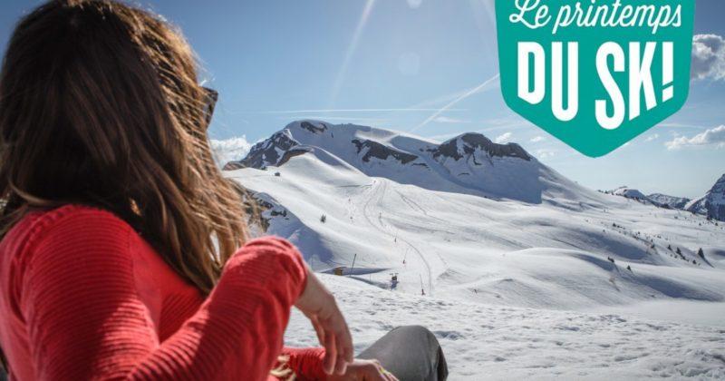 Skiez, c'est le printemps !